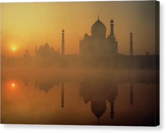 Taj Mahal Canvas Print by Neal J. Wilson