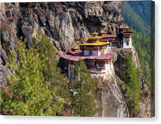 Taktsang Monastery  Canvas Print