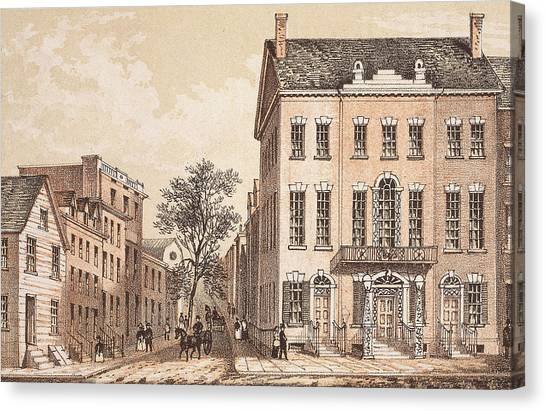 Tammany Hall Canvas Print by Archive Photos