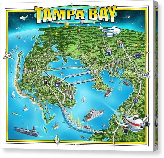 Tampa Bay 2019 Canvas Print