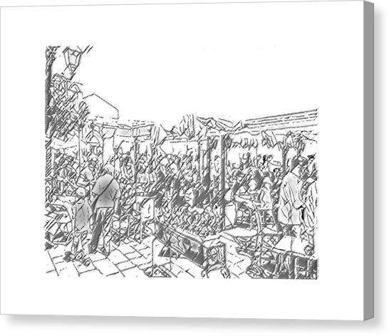 Taormina - Wunderbar Canvas Print
