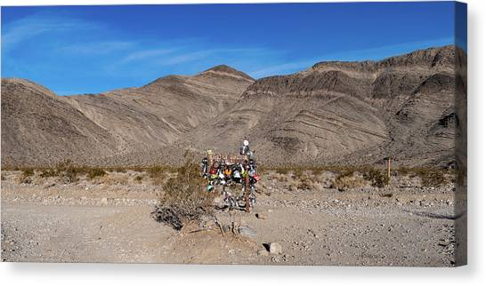 Canvas Print featuring the photograph Teakettle Junction I by William Dickman