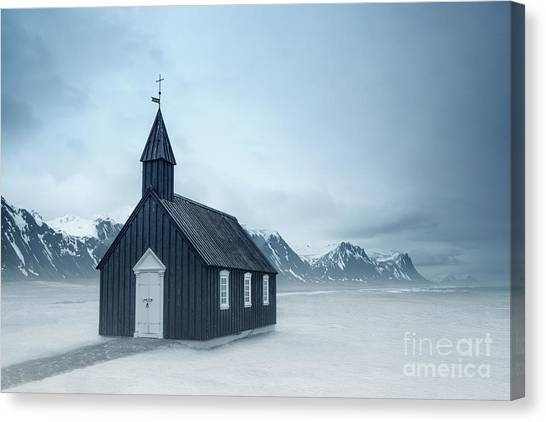 Chapel Canvas Print - Temple Of The Winds by Evelina Kremsdorf