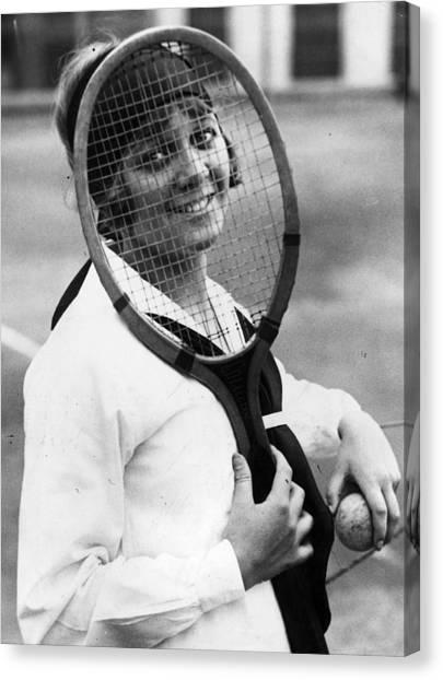 Tennis Racquet Canvas Print