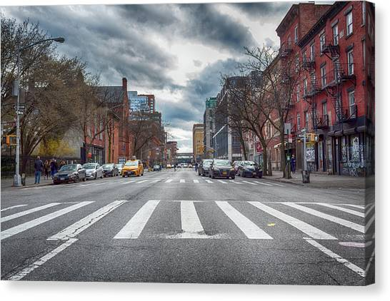 Tenth Avenue Freeze Out Canvas Print