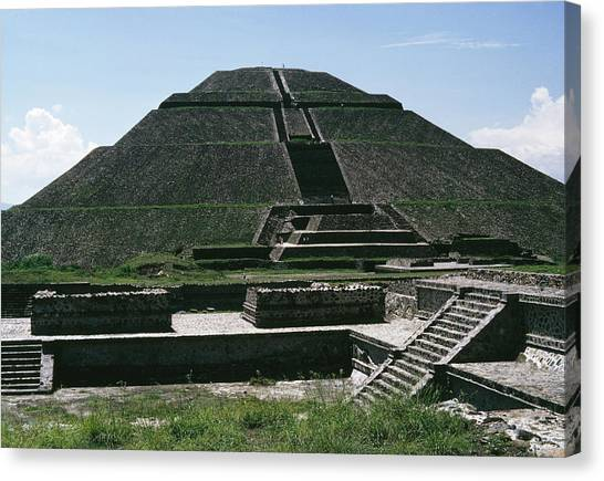 Teotihuacan Canvas Print by Archive Photos