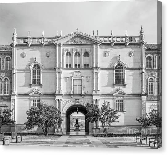 Texas Tech University Canvas Print - Texas Tech University Administration Building by University Icons