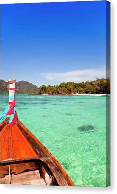 Phi Phi Island Canvas Print - Thailand, Krabi Province, Ko Phi Phi by Gardel Bertrand / Hemis.fr
