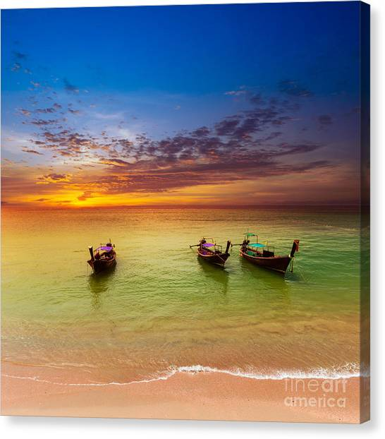 View Canvas Print - Thailand Nature Landscape. Tourism by Banana Republic Images