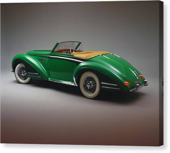 The 1948 Delahaye 135 Ms Vedette Is A Canvas Print