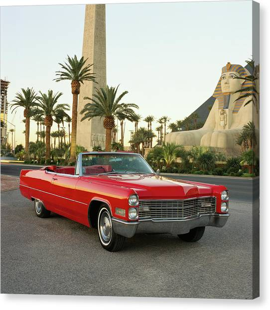 The 1966 Cadillac Deville Convertible Canvas Print
