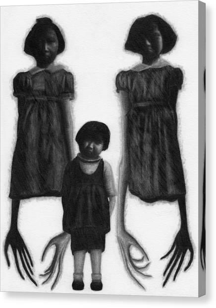 The Abberant Sisters - Artwork Canvas Print