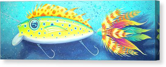 The Alluring Lure Canvas Print