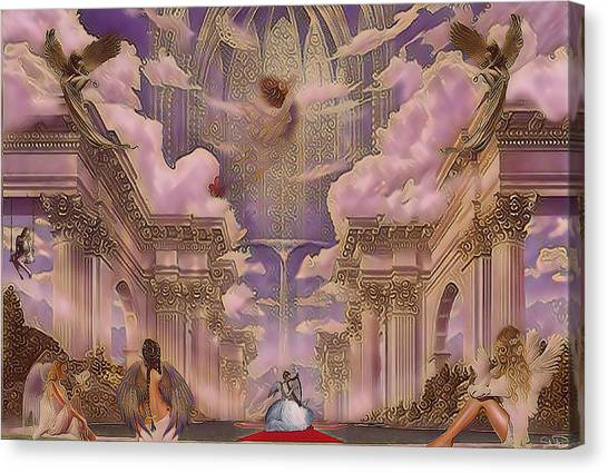 The Angels Palace Canvas Print