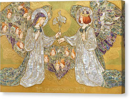 The Annunciation Canvas Print - The Annunciation by Frank Pickford Marriott