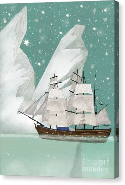 Tall Canvas Print - The Arctic Voyage by Bri Buckley