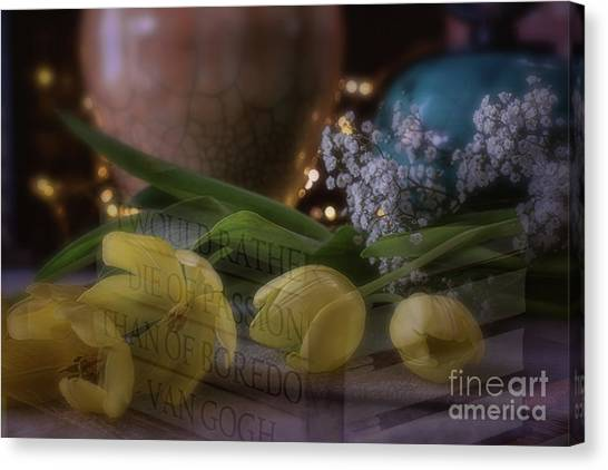 The Art Of Passion Canvas Print