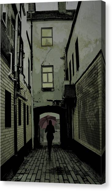 The Back Way Canvas Print