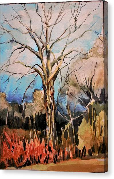 Canvas Print - The Barren Tree by Mindy Newman