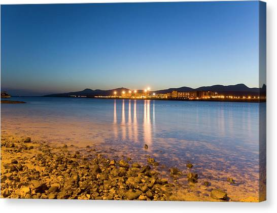 The Beach Of Playa De El Castillo Canvas Print by Maremagnum
