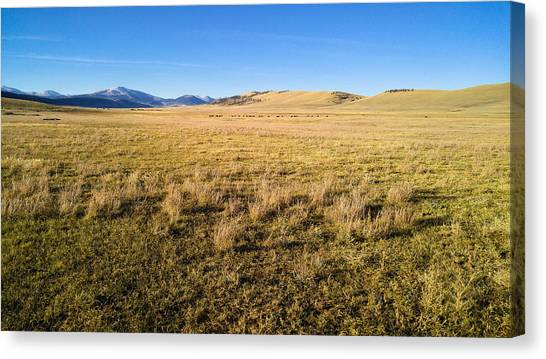 The Beautiful Valley Canvas Print