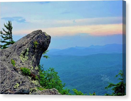 The Blowing Rock Canvas Print