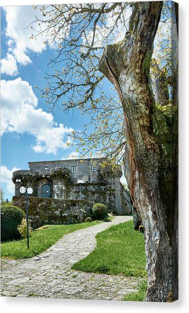 The Castle Of Villamarin Canvas Print