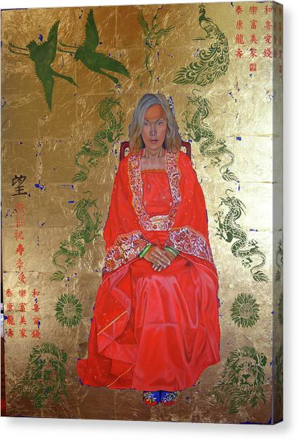 The Chinese Empress Canvas Print