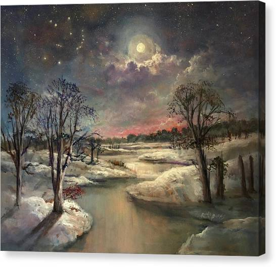 The Constellation Orion Canvas Print