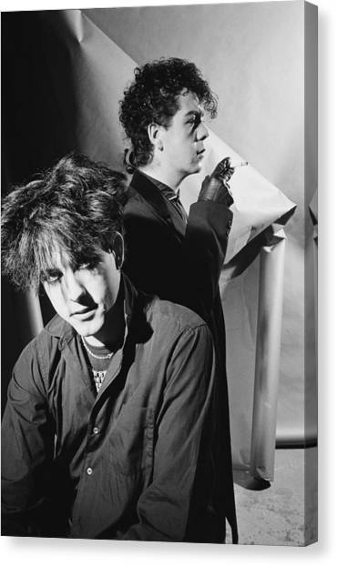 January Canvas Print - The Cure by Fin Costello
