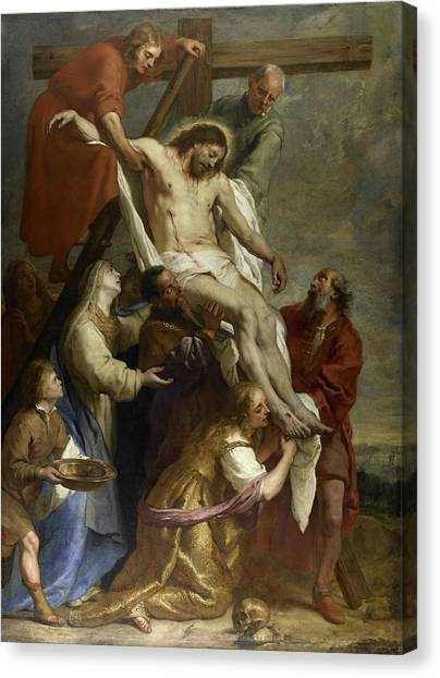 The Descent From The Cross Canvas Print