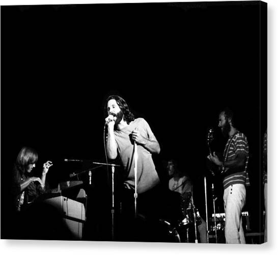 The Doors Live Canvas Print by Larry Hulst