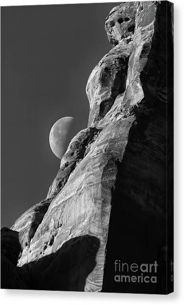 The Edge Of Night Canvas Print