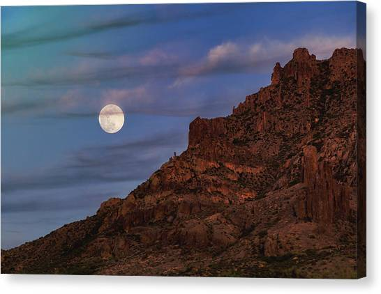 Canvas Print - The Flower Moon  by Saija Lehtonen