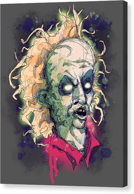 Beetles Canvas Print - The Ghost With The Most by Ludwig Van Bacon