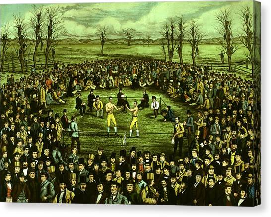 The Great Contest Canvas Print by Hulton Archive