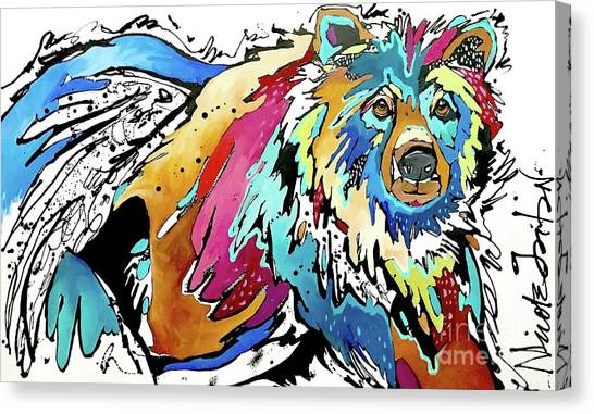 The Grizzly Details Canvas Print