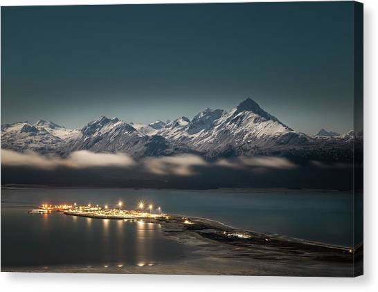 The Homer Spit Canvas Print