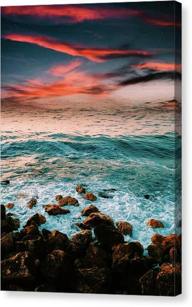 The Horizon Canvas Print