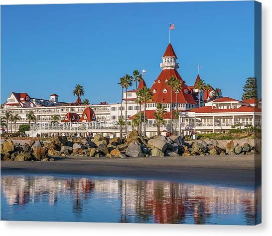 The Hotel Del Coronado San Diego Canvas Print