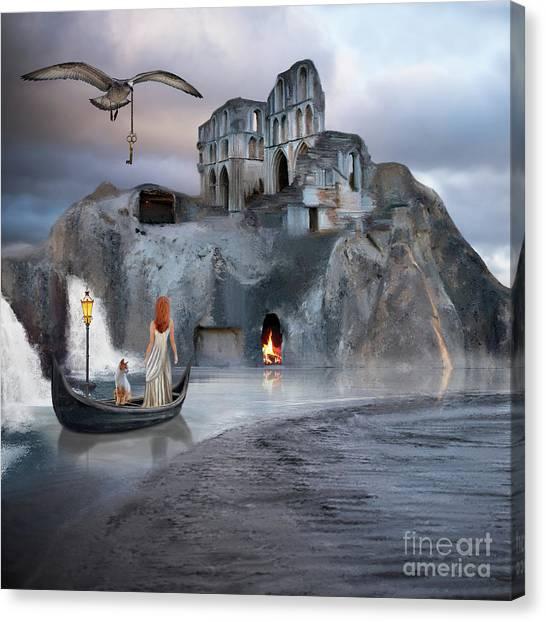 The Journey To Atlantis Canvas Print