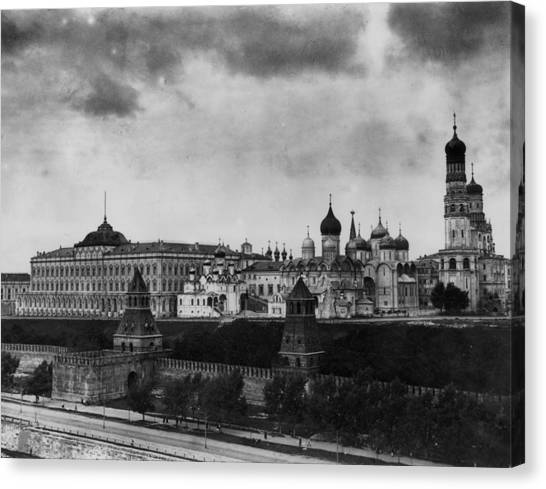 The Kremlin Canvas Print by Topical Press Agency