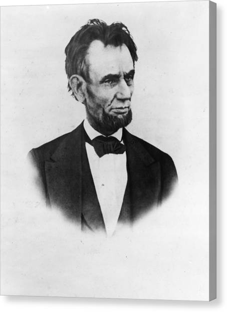 The Last Lincoln Canvas Print by Henry F. Warren