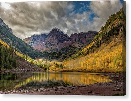 The Maroon Bells - Aspen, Colorado Canvas Print