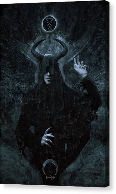 Magicians Canvas Print - The Messenger by Cambion Art