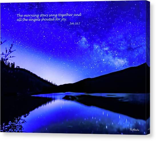 The Morning Stars Canvas Print