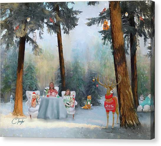 Woodland Canvas Print - The Mystical Magical Wonders Of The Forest by Colleen Taylor