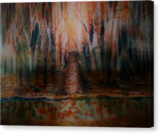 Canvas Print - The Narrow Path by Mindy Newman