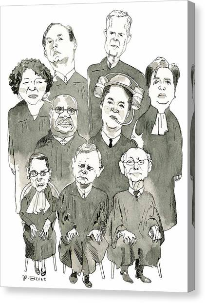 The New Supreme Court Canvas Print