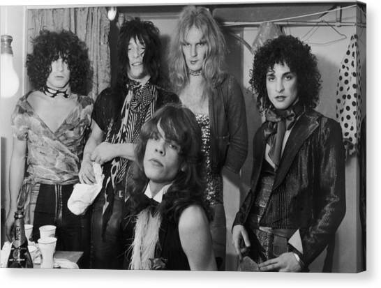 The New York Dolls Canvas Print